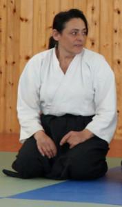 Silvia Blasi - cintura nera, 4° dan di Aikido